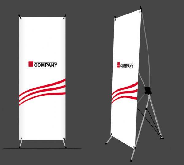ป้าย X stand (80 x 180 cm) รุ่น Standard