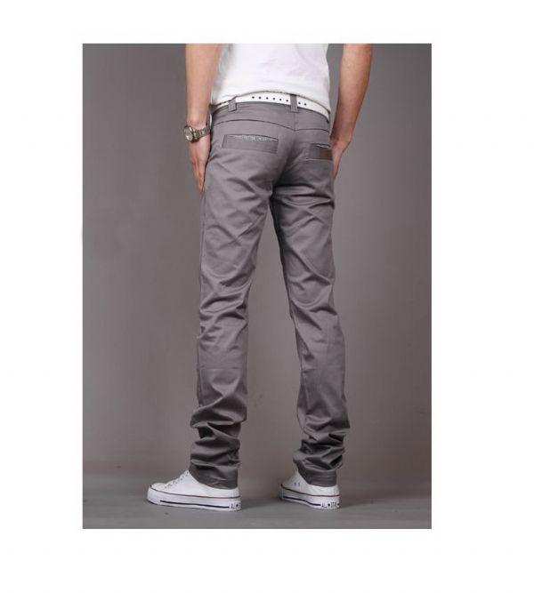 เสื้อผ้าผู้ชาย: กางเกง casual แต่งขลิบกระเป๋า
