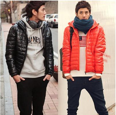 เสื้อกันหนาวผู้ชาย : โค้ทกันหนาวกันหิมะมีฮูด