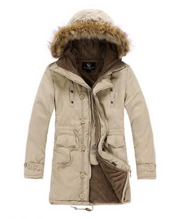 เสื้อกันหนาวผู้ชายพร้อมส่ง : โค้ท cotton padded ด้านในซับ fur
