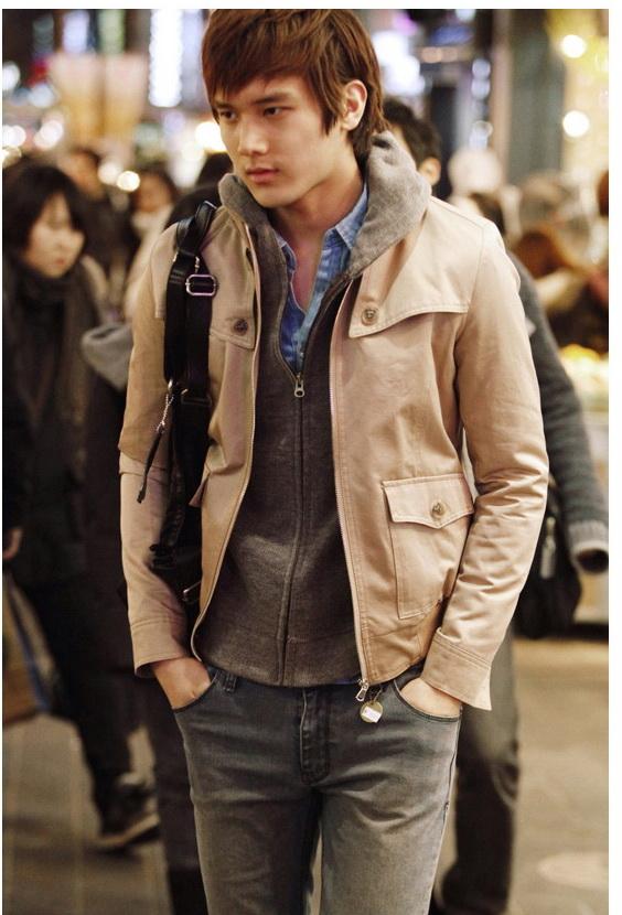 เสื้อผ้าผู้ชายพร้อมส่ง : แจ๊คเก็ต cotton casual