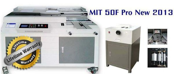NEW เครื่องเข้าเล่มไสกาว รุ่น MIT 50F Pro (2013)/50A+ กาว 3 ลูก (รับประกันแผงวงจร Lifetime ปี)