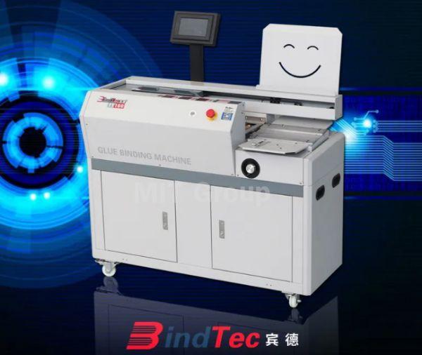 เครื่องเข้าเล่มสันกาว Bind Tech TT100
