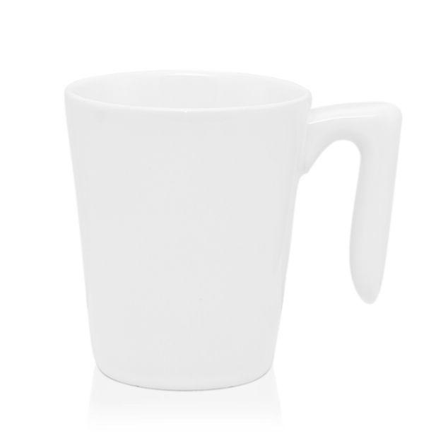 แก้วเซรามิค  สีขาว