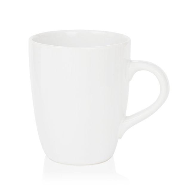 แก้วเซรามิค สีขาวมัน