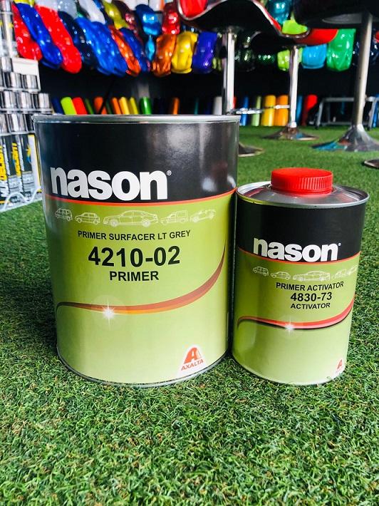 ไพรเมอร์ NASON 2K (4:1) สีเทา