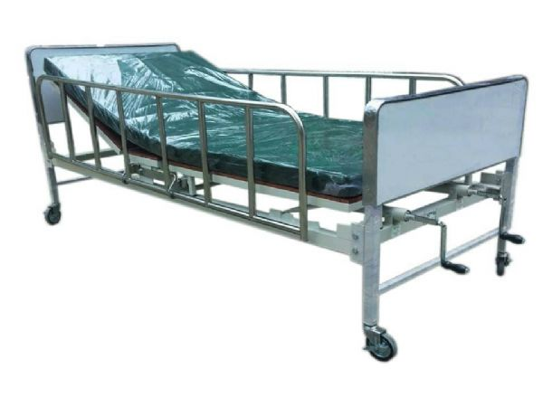 PS 3 เตียง 2 ไกร์มือหมุน รุ่นโรงพยาบาล
