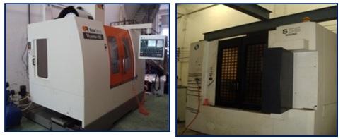 เครื่องกลึง CNC Machining Center Machine