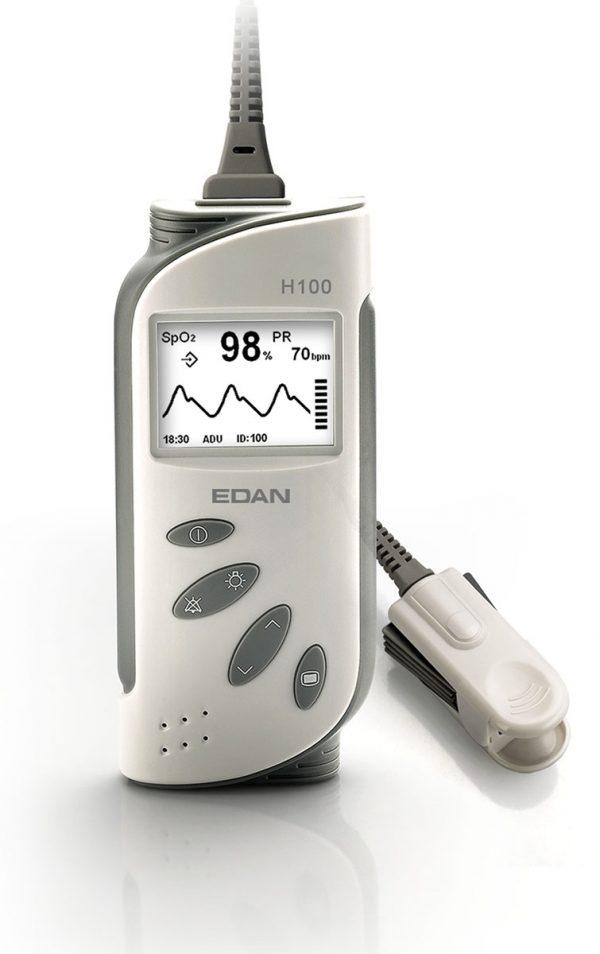 เครื่องวัดความอิ่มตัวออกซิเจนแบบพกพา EDAN