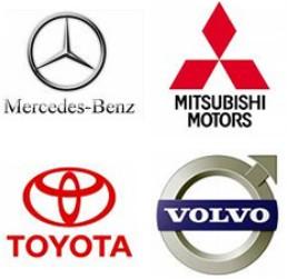 Benz Mitsubishi Toyota Volvo