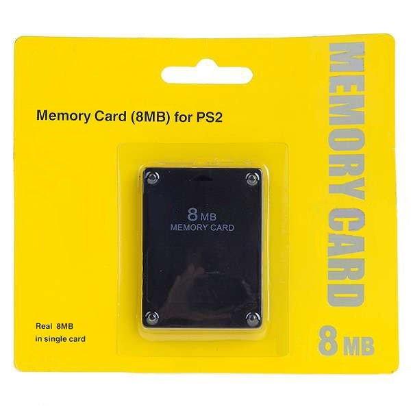 MEMORY CARD 8MB สำหรับ PS2 - USED
