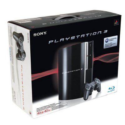 เครื่องเกม PLAYSTATION 3 40GB ครบชุด
