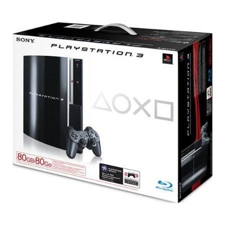 เครื่องเกม PLAYSTATION 3 80GB ครบชุด