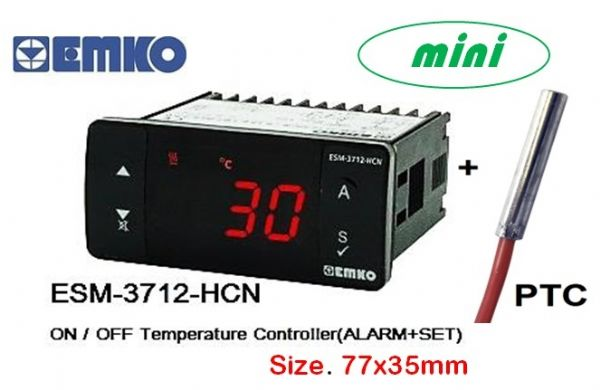 EMKO ESM-3710-HCN Digital ON/OFF Temperature Control