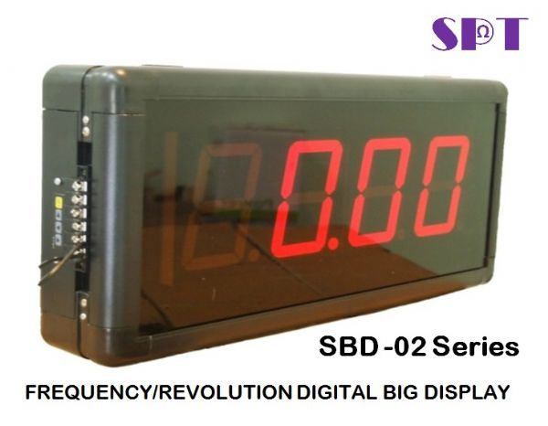 FREQUENCY/REVOLUTION LARGE INDICATOR
