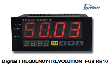 FG8-RB10 TACHOMETER/FREQUENCY