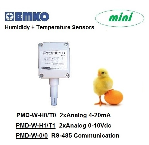 EMKO Humidity + Temperature Sensors