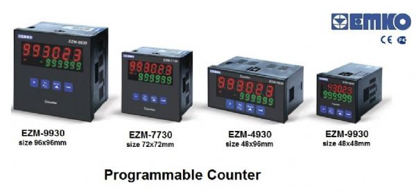 EMKO Single SET Programmable Counter