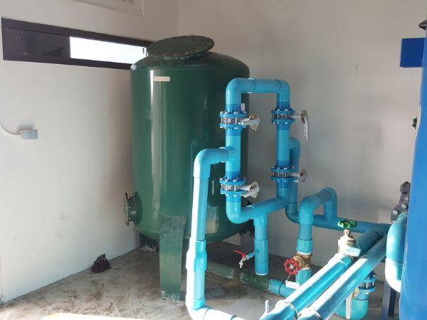 ปรับปรุงระบบกรองน้ำโรงงาน