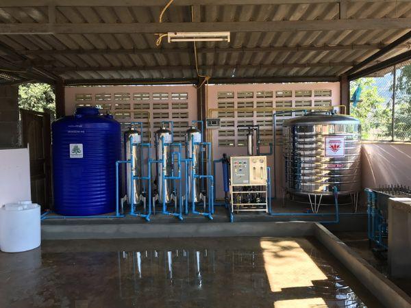 โรงน้ำดื่มชุมชนหมู่บ้าน