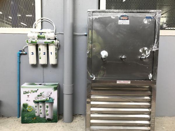 ตู้น้ำเย็น+เครื่องกรองน้ำ