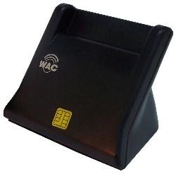 เครื่องอ่านบัตรประชาชนสมาร์ทการ์ด ชนิดเสียบบัตรแนวตั้ง