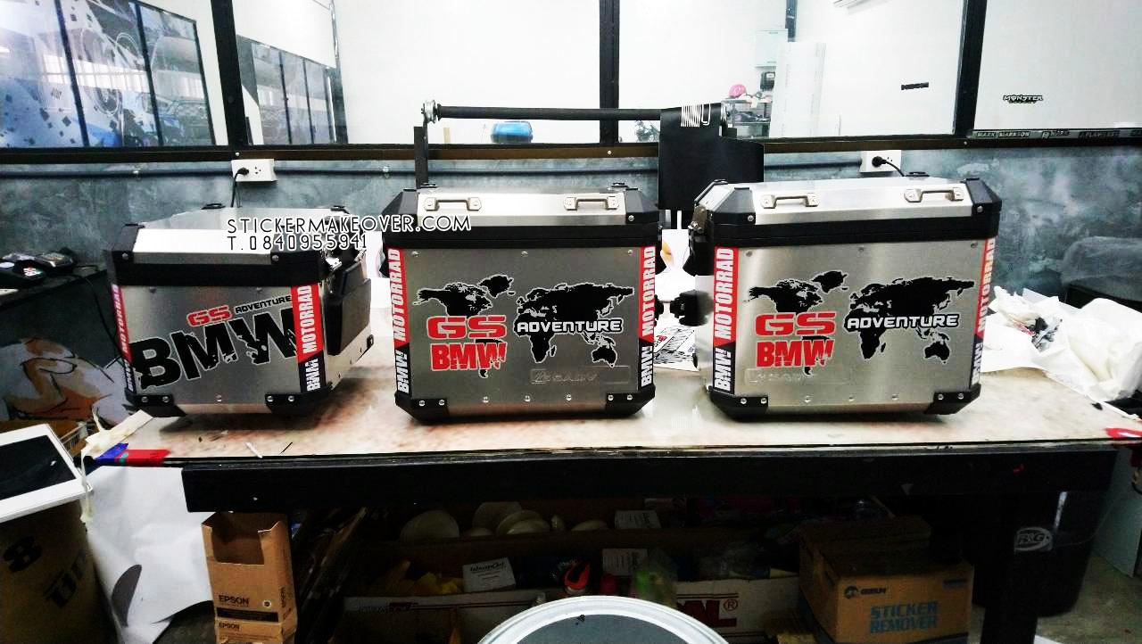 หุ้มปิ๊ปbmwสีดำด้าน สติกเกอร์สะท้อนเเสงติดปิ๊ปบีเอ็ม สติกเกอร์สะท้อนเเสงติดปิ๊ปBMW r1200gsa แต่งบายปิ๊ปbmw สติกเกอร์ติดรอบปิ๊ปbmw สติกเกอร์สะท้อนเเสง3Mติดปิ๊ป ออกแบบสติกเกอร์ติดปิ๊ป