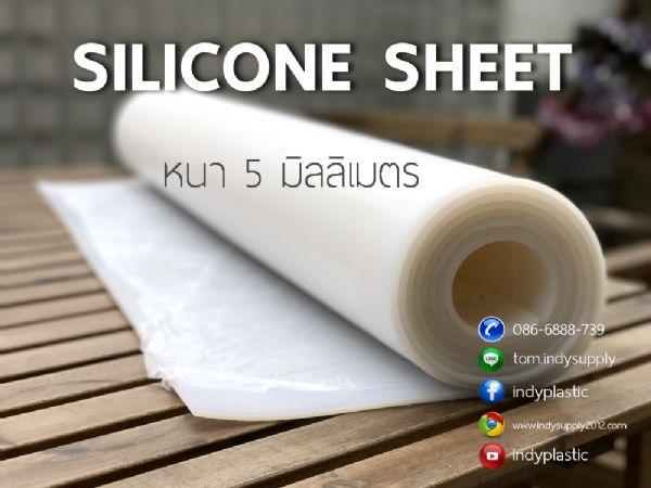 แผ่นยางซิลิโคน สีขาวขุ่นจำหน่าย Ptfe Teflon Sheet