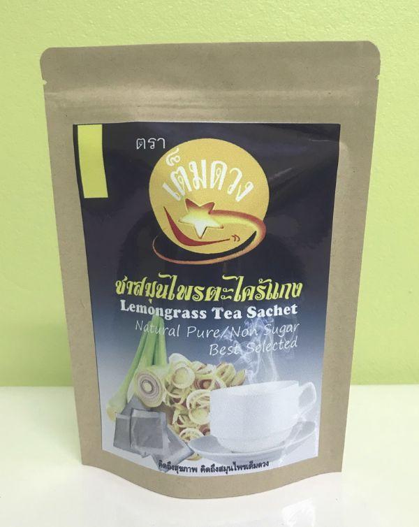 ชาสมุนไพรตะไคร้แกง(Lemongrass Tea)