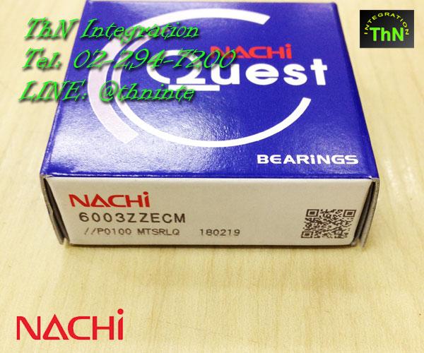 ตลับลูกปืน NACHI 6003-ZZ