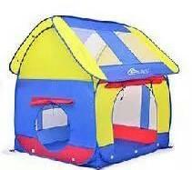 บ้านลูกบอลทรงสี่เหลี่ยม สีน้ำเงิน-เหลือง