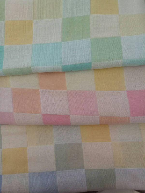 ผ้าเช็ดตัวผ้าสาลูทอ2ชั้น