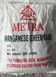 สารกรองแมงกานีส กรีน แซนด์ METRA