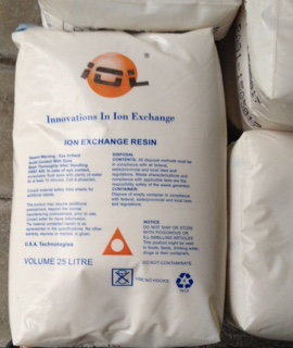 IOL ion exchange resin (ยี่ห้อ IOL)