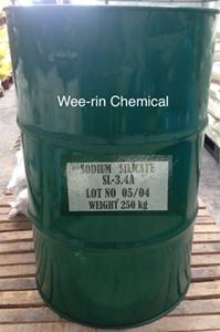 โซเดี่ยม ซิลิเกต 48 - 52 โบเม่ (Sodium silicate 48-50 Be)