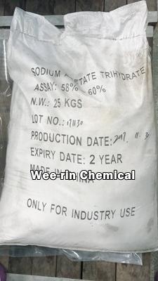 โซเดียม อะซิเตรท ไตรไฮเดรต (Sodium Acetate Trihydrate)
