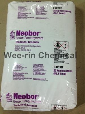 บอแร็กซ์ (Borax Pentahydrate 5H2O) USA. ตราม้า
