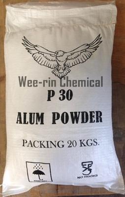 สารส้มผงแป้ง  (ALUM POWDER P30)