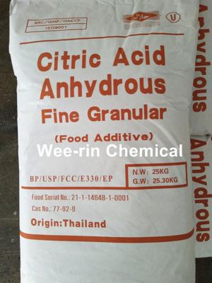 ซิตริก แอซิด แอนไฮดรัส (Citric Acid Anhydrous)