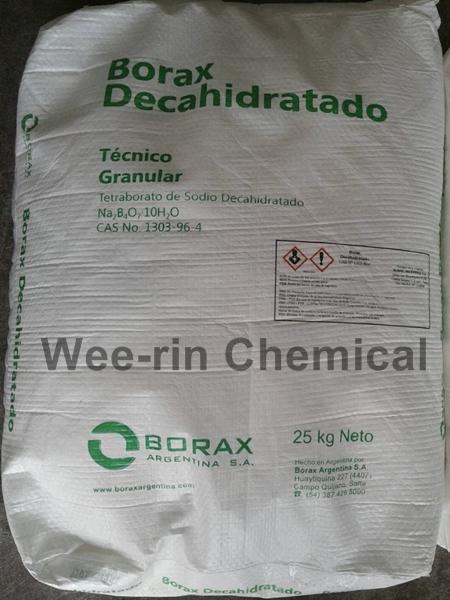 บอแร็กซ์ 10H2O (Borax Decahydrate)