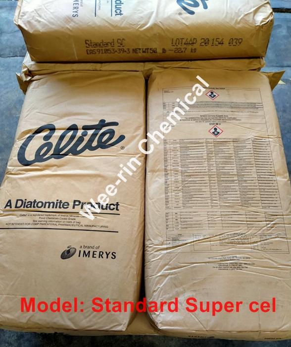 ผงกรอง Celite รุ่น Standard Super Cel