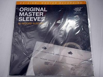 ซองในแผ่นเสียง 12 นิ้ว MFSL Master Inner Sleeves