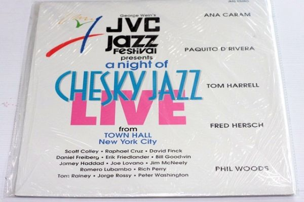 JVC Jazz  Festival - Presents A Night Of Chesky Live