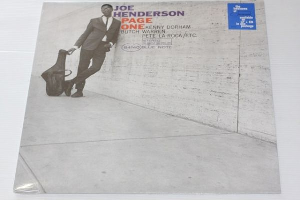 Joe Henderson - Page One(LP + CD)