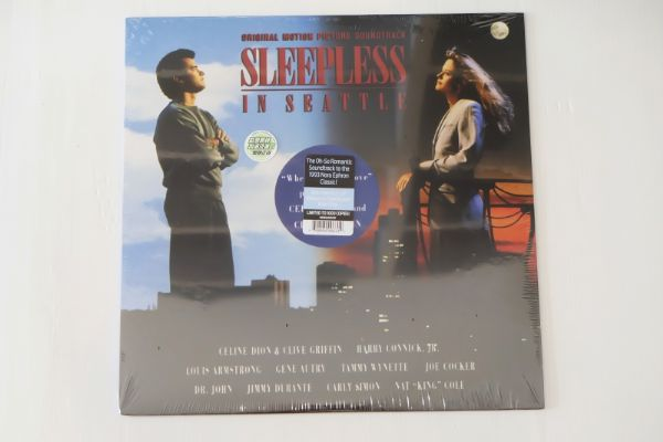 Sleepless In Seattle Soundtrack (Translucent Blue Vinyl)