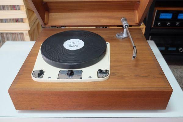 เครื่องเล่นแผ่นเสียง Garrard 301 (โทนอาร์ม 12 นิ้ว Ortofon RMG-309 Limited) *