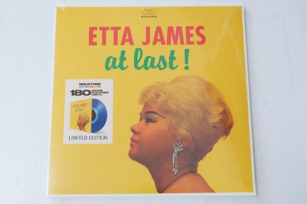Etta James – At Last! (Blue Color)