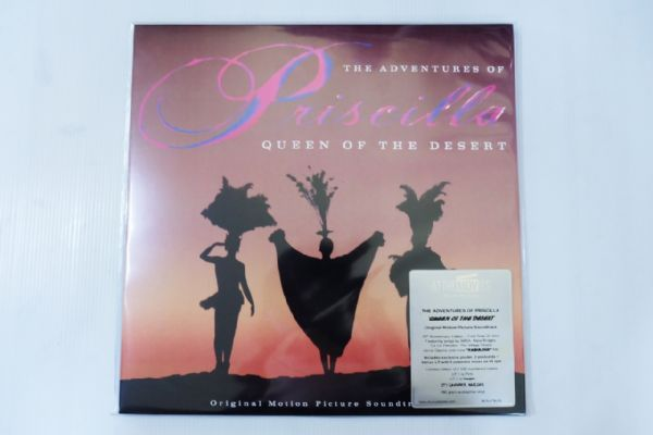 The Adventures Of Priscilla - Queen Of The Desert Ost. (Pink & Lavender Vinyl)