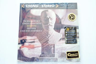 Tschaikowsky, Heifetz, Reiner, Chicago Symphony – Violin Concerto