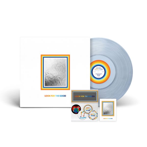 Jason Mraz - Look For The Good (Clear Vinyl + Badge Pack + Vinyl Sticker)